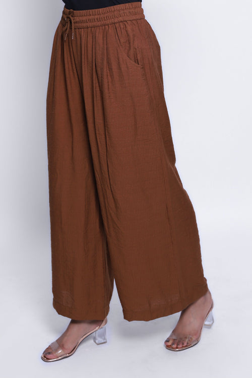 Sepia Brown Culottes