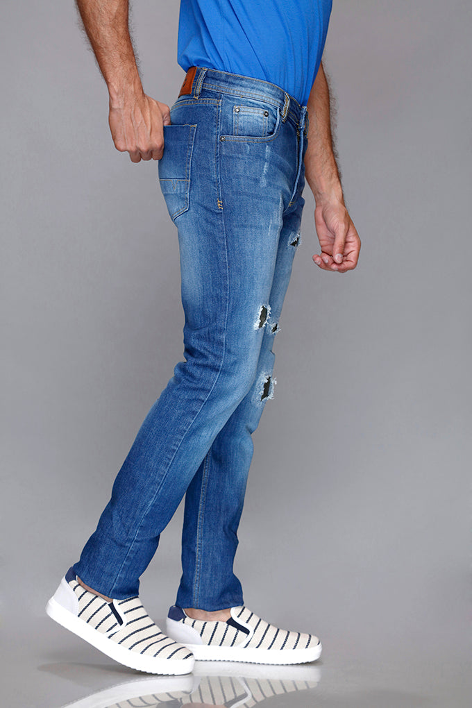 Rugged Blue Jeans