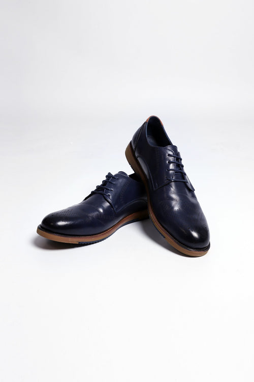 Navy Toe Shoes