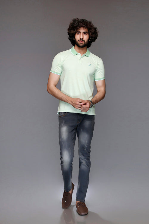 Pale Green Polo