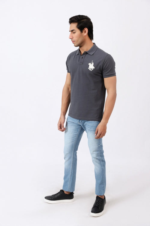 Graphite Grey Polo Shirt