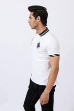 Misty White Polo Shirt