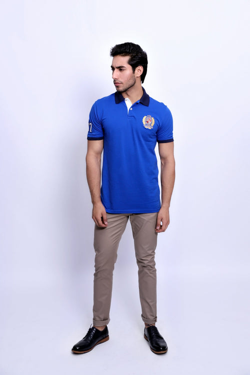 Lake Blue Polo