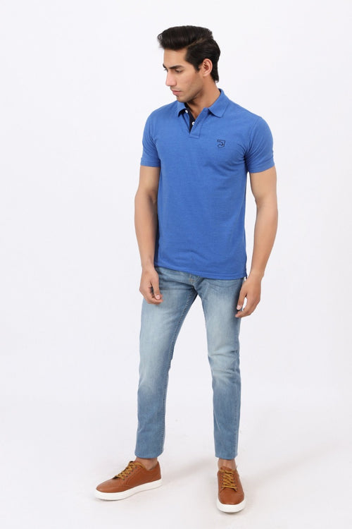 Egyptian Blue Polo Shirt