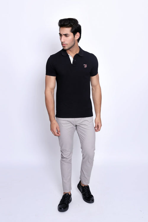 Brilliant Black Polo