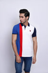 Side Striped Polo
