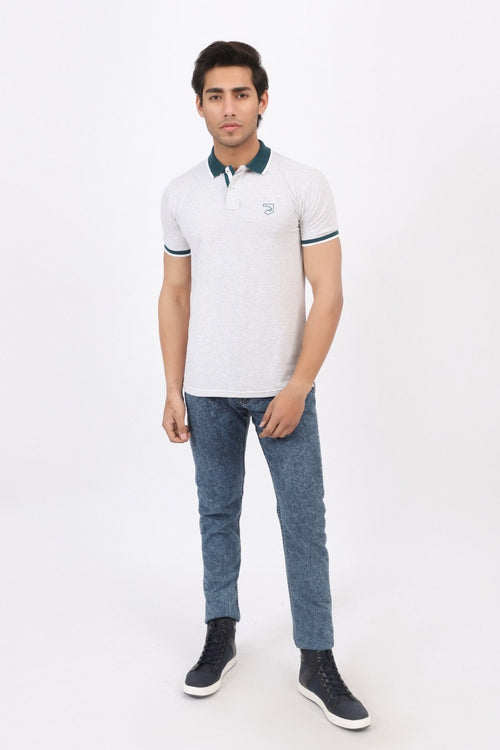 Cloud Grey Polo Shirt