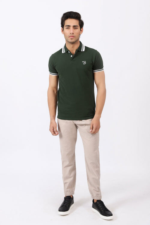 Juniper Green Polo Shirt