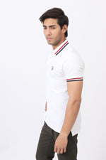 Gentle White Polo Shirt