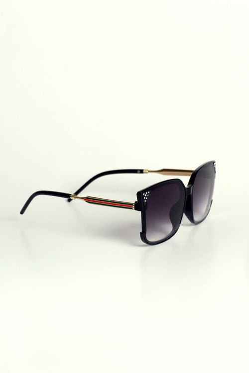 Black Diamante Sunglasses