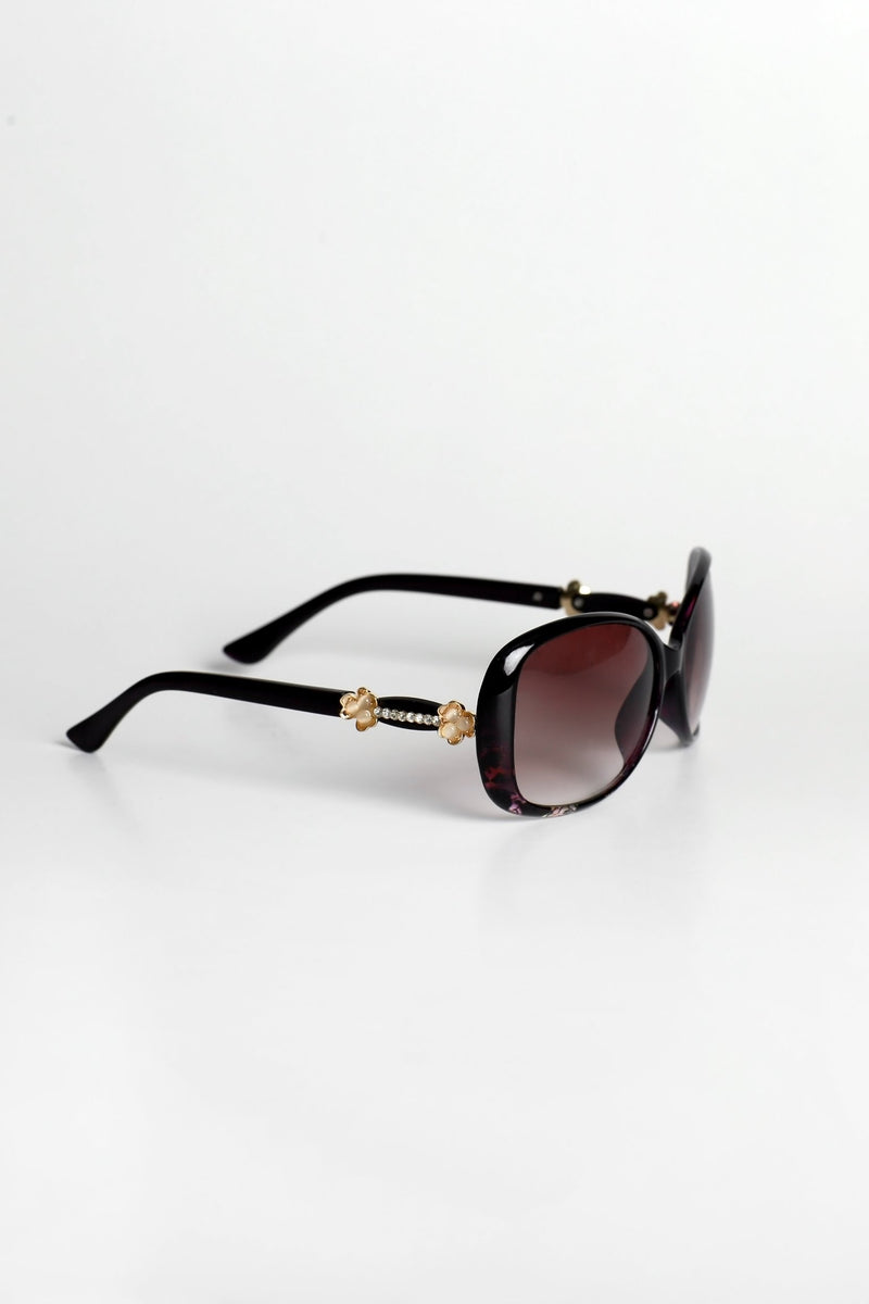 Brown Stardust Sunglasses