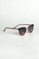 Brown Ombre Sunglasses