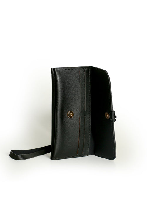 Black Butterfly Clutch