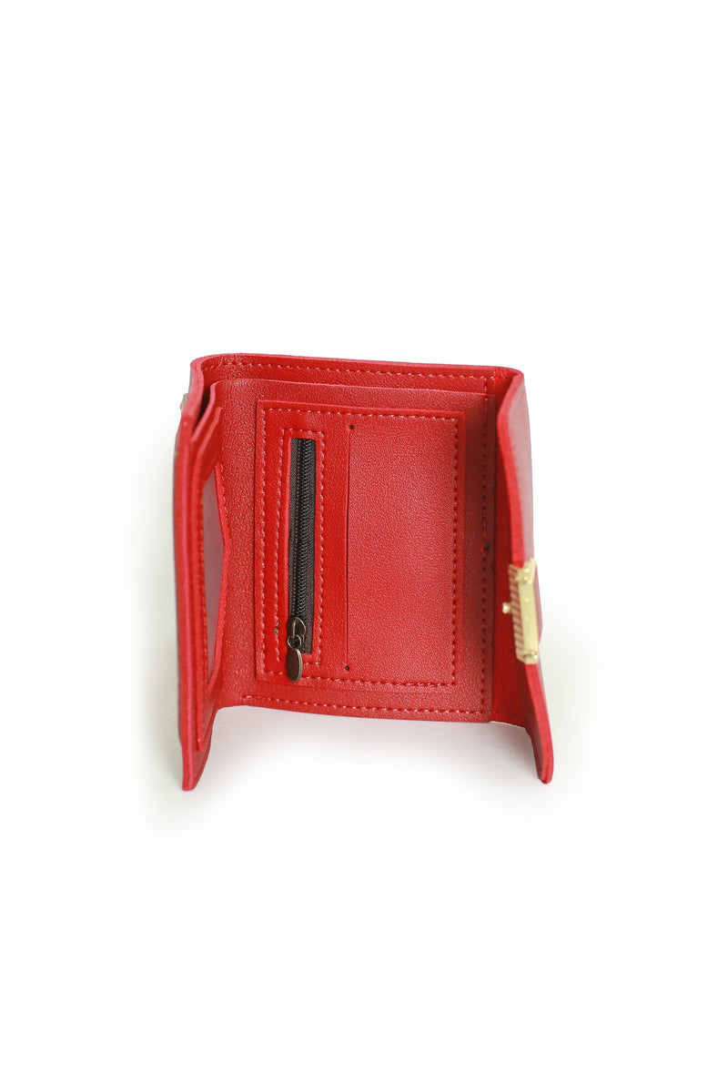 Red Square Wallet