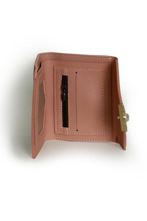 Pink Pearl Adorn Wallet