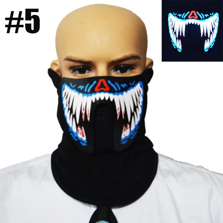 Halloween Party Led Mask
