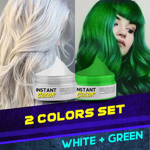 Instant Hair Color Dye Wax
