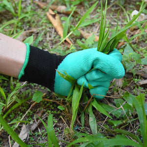 Garden Gloves with Claws on Right Hand