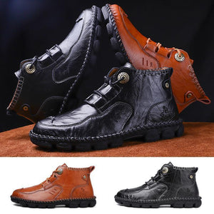 Men's Hand-stitched Martin Boots