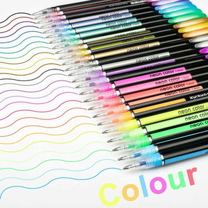 48 Pcs Gel Pen Set