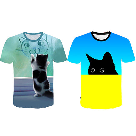 CAT T-SHIRT🐈—Buy 1 get 1 free🔥