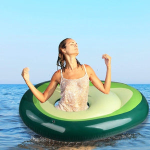 Inflatable Avocado Pool Float - Free Shipping