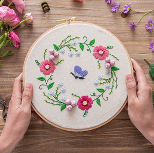 Beginner Hand Embroidery Set