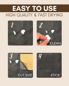 Instant Leather Restore Patch