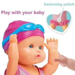 WATERPROOF SWIMMING DOLL