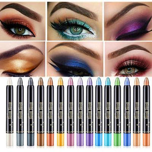 15 Color Professional Women Makeup Eyeshadow Pen(Buy one get one free)
