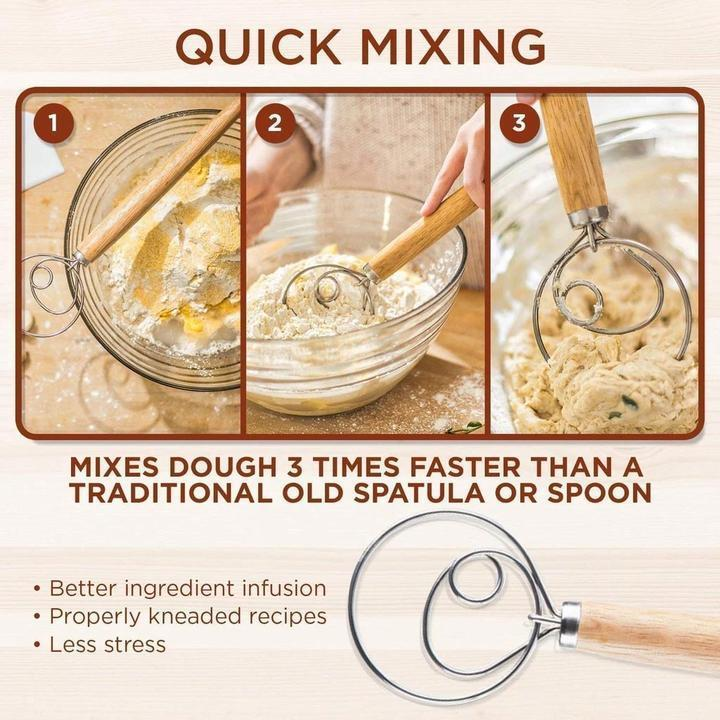 【🔥Buy 1 Get 1 Free🔥】The Danish Dough Whisk