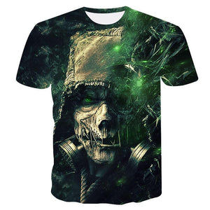 SKULL T-SHIRT💀(AE071)—Fast delivery⚡