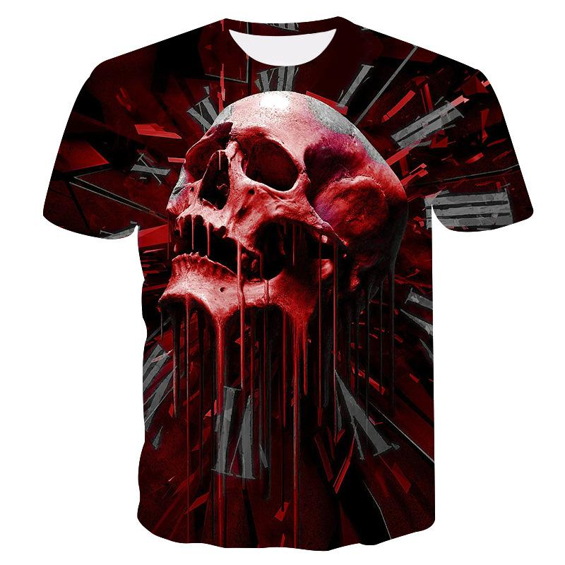 SKULL T-SHIRT💀(AE122)—Fast delivery⚡