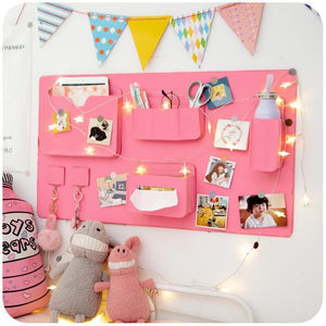 DIY Photo Wall Felt Organizer