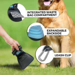 Easy-to-use Dog Poop Scooper with biodegradable bags