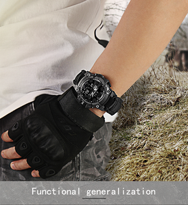 Sports Men's compass Waterproof Watches