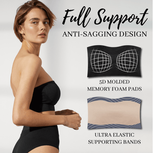 Full Support Seamless Bandeau