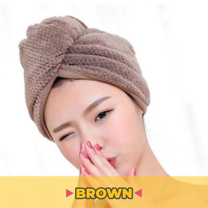 Drying Hair Towel