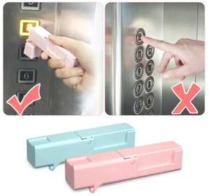 ANTI-TOUCH - SELF-STERILIZING DOOR HANDLE OPENER AND ELEVATOR PRESSER STICK