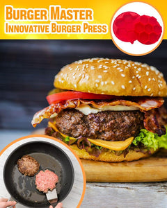 Burger Master Innovative Burger Press LuminousUnicorn