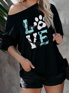 Women's Pet Lovers LOVE Top