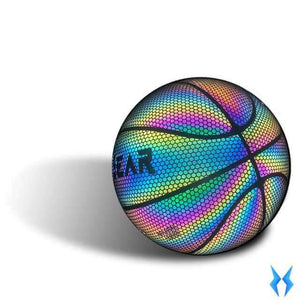 HoloGear Holographic Glowing Reflective Basketball