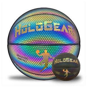 HoloGear Basketball HoloGear Holographic Glowing Reflective Basketball