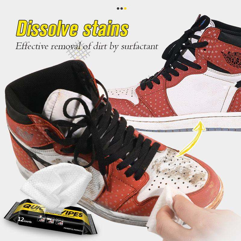 Premium Shoe Cleaner Wipes (60% Off NOW!)