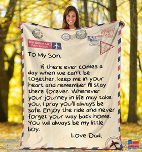 To My Family Blanket - FA
