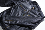 Bullet Resistant Men's Leather Jacket