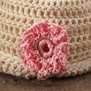 CROCHET CUFF HAT AND BOOTEES