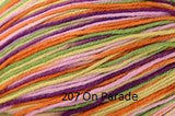 Universal Yarn Bamboo Pop a blend of Cotton and Bamboo. Color #207 On Parade.