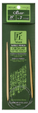 Clover Bamboo fixed Circular Knitting Needles.  Size  US 7 x 24""