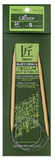 Clover Bamboo fixed Circular Knitting Needles.  Size  US 9 x 24""